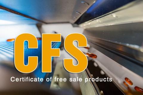 Bộ hồ sơ làm giấy chứng nhận lưu hành tự do CFS