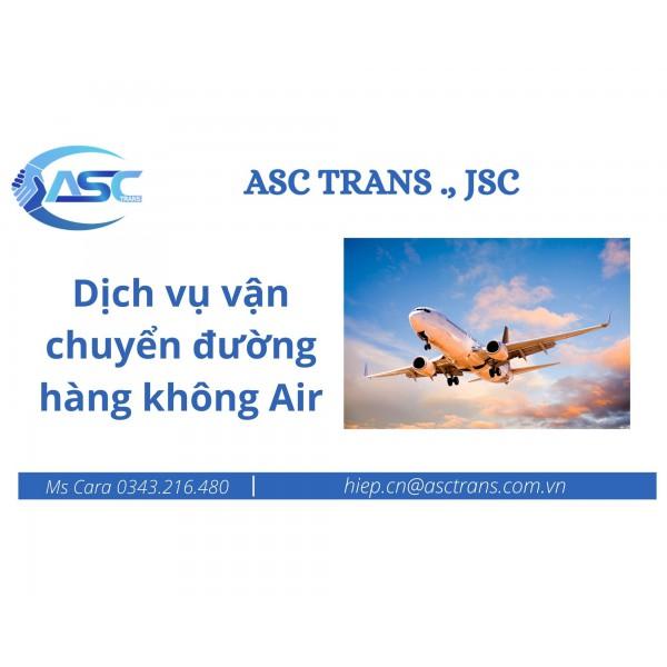 Dịch vụ vận chuyển đường hàng không Air