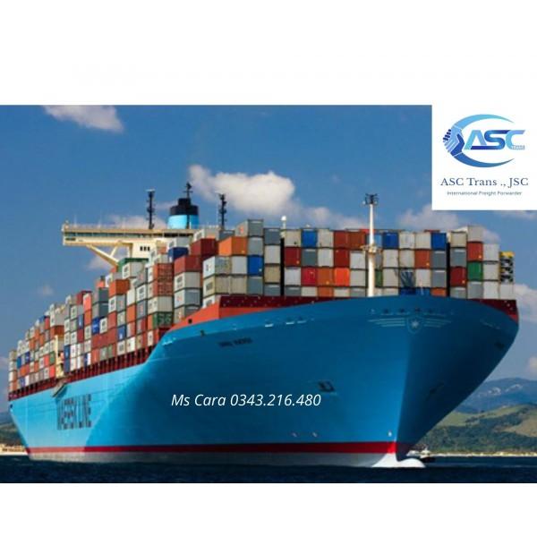 Dịch vụ chuyển hàng y tế đường biển (sea)
