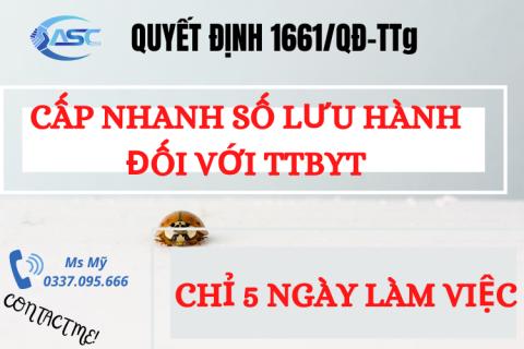 QĐ 1661/QĐ-TTg VỀ CẤP NHANH LƯU HÀNH, CHUYỂN SỐ GPNK SANG SỐ LƯU HÀNH