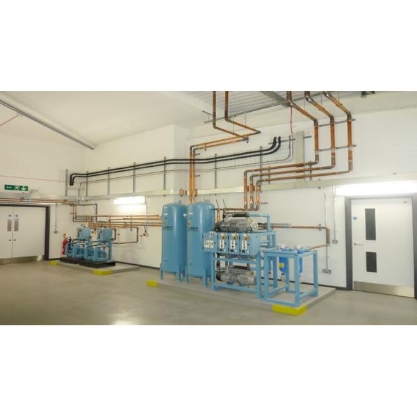 Quy trình nhập khẩu hệ thống khí y tế trung tâm